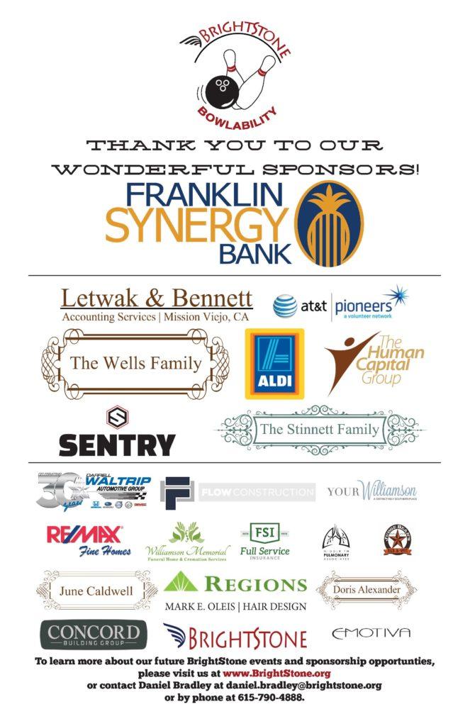 bowl sponsor flyer